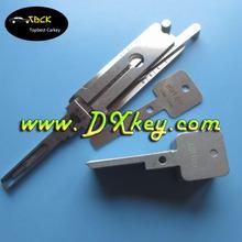 HU100 2 in 1 auto pick locksmith key decoder for Opel car key