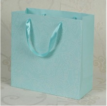 Customized Colorful Printed Standard Size Shopping paper Bag