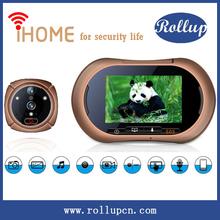 top selling newest design digital door viewer,security door viewer,door peephole viewer supports Android& IOS app