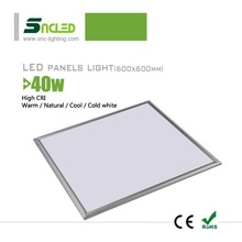 Aluminum Alloy Lamp Body Material led panel lights, 2700-8000k Color Temperature(CCT) led panel lights