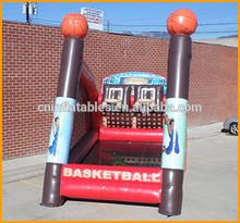 Hot Sale Basketball Shoot Inflatable Game