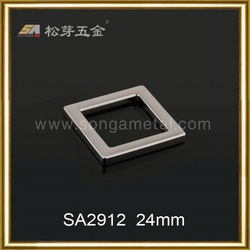 Fashionable bag square buckle,hardware square buckle