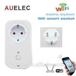 European standard Home Automation Wifi Remote Control Socket 1WJ-AH0P-A