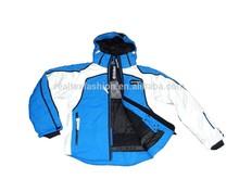 men's skiing outdoor garment, winter sports wear