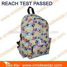 GZ06-W school backpack with full print