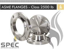 ASME Flanges - 2500 lb Class - Weld Neck, Blind, Lap Joint, Threaded, Sip On