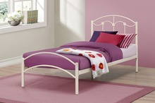 Wrought metal single /kids bed in modern design from factory SB-4722