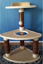 New design hot sale cat tree design cat scratching tree design cat tree