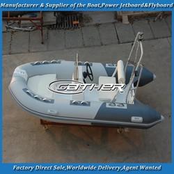 Gather RIB350 rigid hull inflatable boat