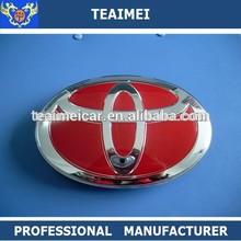 2015 high quality ABS auto car logo badges plastic toyota emblem