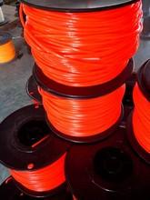Wholesale brush cutter spare part nylon line/trimmer line/professional grade