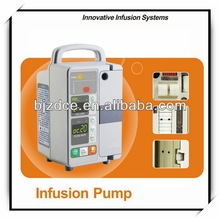 Modern hot sell syringe infusion pump with two channel