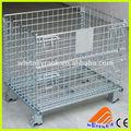 Especializados de china de alta calidad de plataforma plegable bin, paletas de apilamiento jaula, plegable contenedor