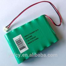Batteria nimh 6s1p 7.2v 3700 mAh per robot aspirapolvere intelligente pulitore