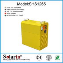Emergency 20W Mini solar system price include mono solar panel
