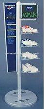 GU-M1508 best quality hotsell special sport shoe metal display rack