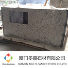 natural stone White rose Granite kitchen countertop
