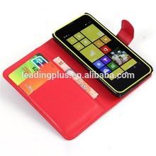 For Nokia Lumia 630 Flip Leather Case