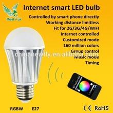 New Fly 2015 smart wifi bluetooth hidden camera light bulb