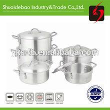 Mirror polishgood quality ceramic 3 legs casting iron pot