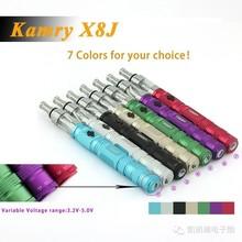 Kamry hot glass drip tip 1500mah X8J ecig battery,Kamry X8J Vaporizer