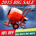 o mais novo 2015 huaxin pequeno diesel misturador de concreto