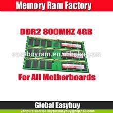 Good Packaging 4gb ddr2 ram stick for desktop
