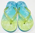 estilo de la moda de goma Zapatillas chanclas