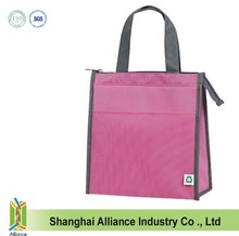 Fashion Insulated Hot/cold Cooler Tote Bag/heat-sealed waterproof lining