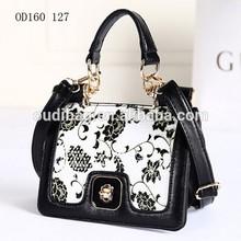 New design vintage leather messenger bag hot fashion wholesale price custom design lady leather bag