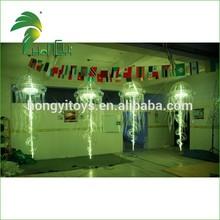 Flashing/shiny fast production good quality verified on Alibaba inflatable jellyfish