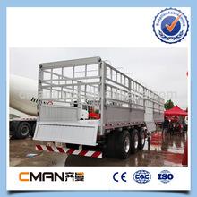 12 wheels 3 axles livestock carriers of bulk transportationr for sale