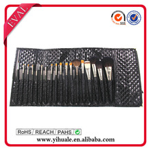 New Style 24 set make up brushes with wooden handles