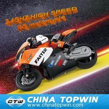 2015 New car 2.4G high racing 1:10 CVT mini rc motorcycle