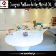 high gloss office table work desk design