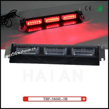 high brightness red Led visor warning light TBF-3868L-3B