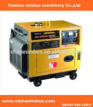 hot sell OEM silent Diesel Generato low noise diesel power generators