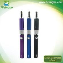 Factory wholesale A level evod oil vaporizer rechargeable battery e cigarette