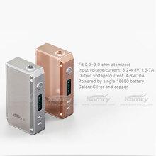 Box mod electronic cigarette china supplier 7w-20w wattage kamry20w