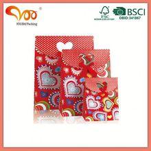Latest Design Unique popular christmas paper bags
