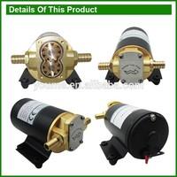 Singflo 24v 12LPM/3.2GPM marine transfer pump/reversible gear pumps