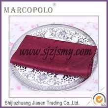 Color cocktail fabric square napkin/wedding napkin folds/polyester napkins for restaurant