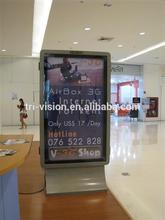 advertising display light box sign