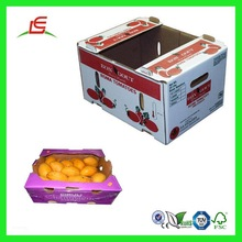 Q497 Factory Manufacturer Eco-friendly High Quality Offset Printing Cardbroad Fruit Box In China