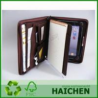 Leather Mini Tablet Briefcase / For leather portfolio case
