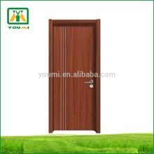 YMR-017 Beautiful Decorative MDF pvc door profile carving interior door for home