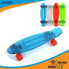 wooden replica luminous penny skateboard skate board