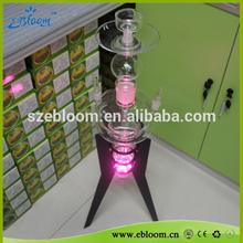 Popular model art glass hookah with factory offer
