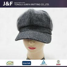 New design low moq wholesale handmade crochet baby girl beanie hat