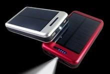 Built-in battery 1800mah to 12000mah portable solar mobile phone charger/solar cell phone charger/solar power bank
